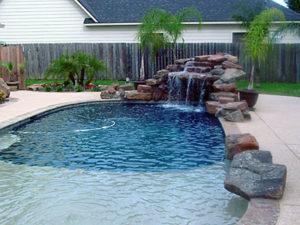 Webster TX gunite pool