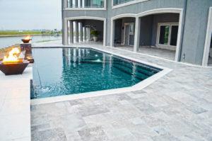 Houston TX concrete pool deck resurfacing