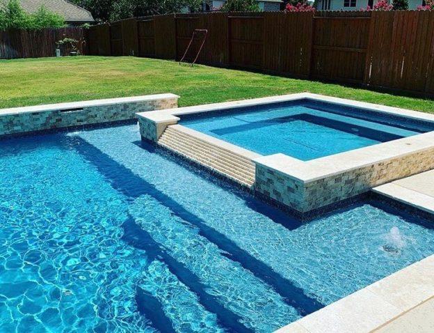 Webster TX pool plaster