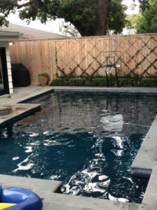 The Woodlands TX pool replastering