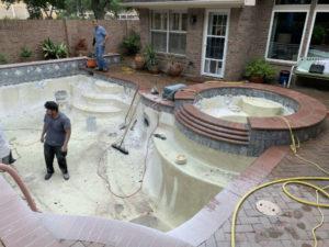 Pearland TX Pool Renovations
