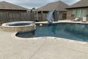 Houston TX Pool Plaster Repair