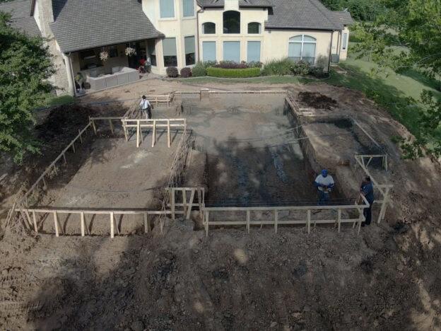 Excavation- jr pool plastering