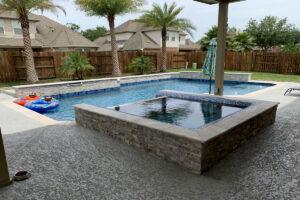 River Oaks TX Pool Plaster