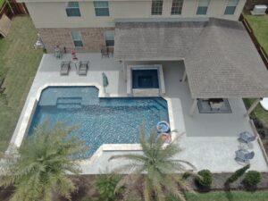 Houston Texas Gunite Pool Crack Repair