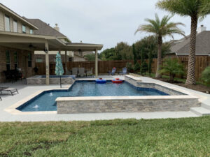 Pearland TX pool plaster