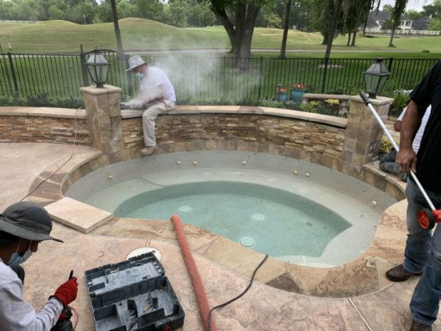 Houston TX Pool Renovations Near Me