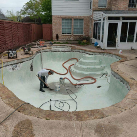 Houston TX pool resurfacing companies