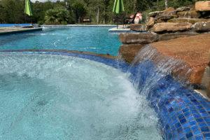 River Oaks TX gunite swimming pool