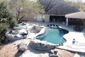 League City Texas Gunite Pool Repair