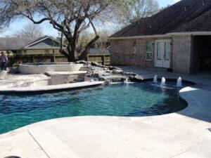 River Oaks TX Gunite Pool Repair