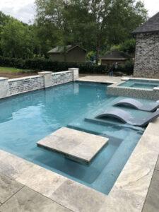 Missouri City TX gunite pool
