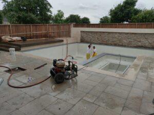 Webster TX Pool Deck Resurfacing