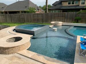 Houston TX Gunite Pool