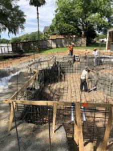 The Woodlands TX pool deck resurfacing