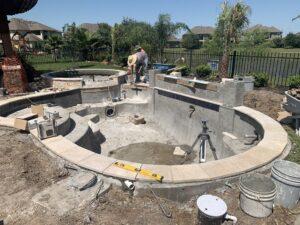 Missouri City TX gunite pool resurfacing