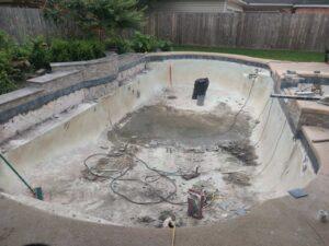 Seabrook TX Pool Replastering