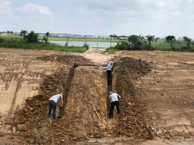 Cinco Ranch TX Erosion Control