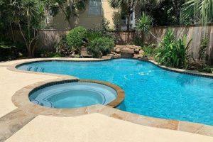 Fulshear TX pool plaster repair